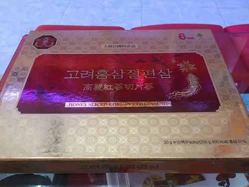 Korean Sliced Red Ginseng có tốt không
