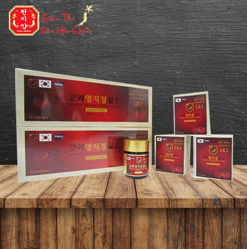 Review Cao Linh Chi Đỏ Hàn Quốc Hộp Gỗ Cao Cấp 400g Cho Sức Khỏe Vàng