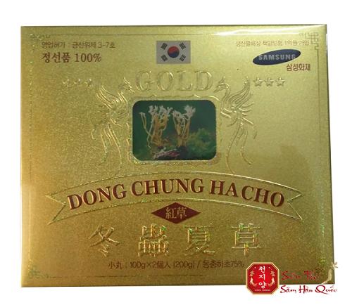 Viên uống Đông Trùng Hạ Thảo Pocheon 200gr đến từ hàn quốc