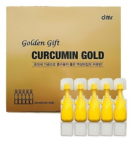 nano golden gift curcumin gold