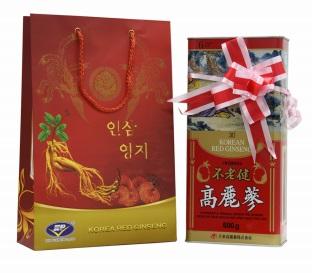 Hồng sâm củ khô daedong hộp 600g chất lượng chính hãng korea