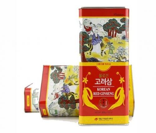 Hồng sâm củ khô 300gr Daedong