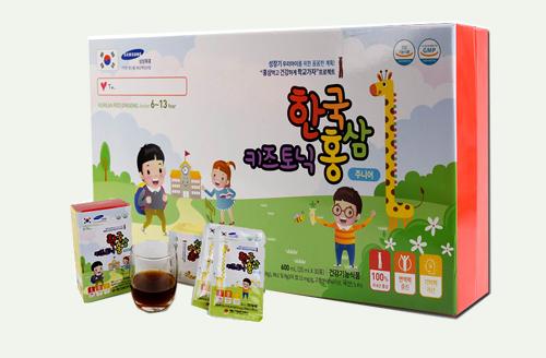 tác dụng của Korean Red Ginseng Junior 6-13 year Hàn Quốc