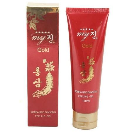 Sữa rửa mặt hồng sâm đỏ My Gold 130ml xuất xứ Hàn Quốc