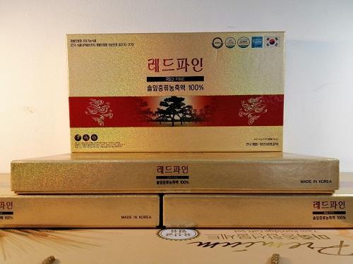 Review tinh dầu thông đỏ Red Fine Hàn Quốc hộp 120 viên