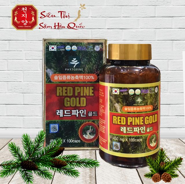 Review Tinh Dầu Thông Đỏ Red Pine Gold Của Hàn Quốc hộp 100 viên!