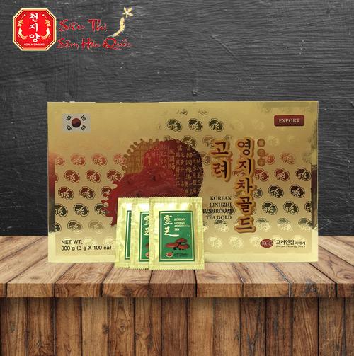 Review Trà Linh Chi KGS Hàn Quốc 300g Thức Uống Cho Dân Văn Phòng