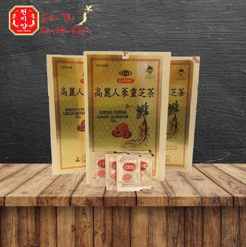 Review Trà Nhân Sâm Linh Chi Hàn Quốc Cao Cấp 100 Gói Có Tốt Không?
