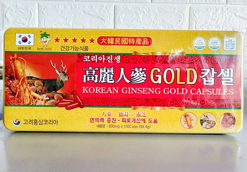 Viên Hồng sâm nhung hươu Linh chi tốt cho sức khỏe