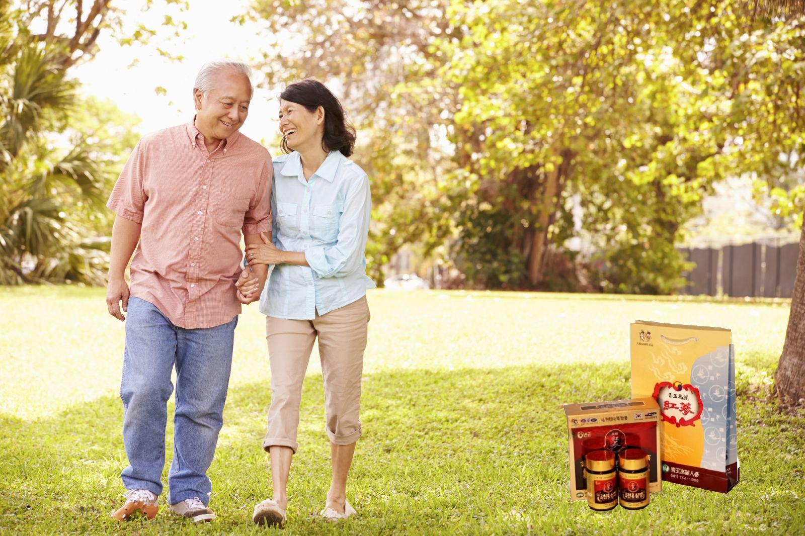 cao hồng sâm kana tốt cho sức khỏe người già