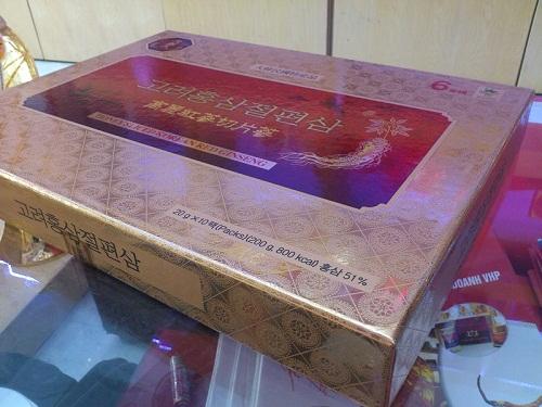 Korean Sliced Red Ginseng được rất nhiều khách hàng tin dùng