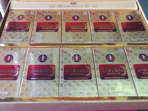 hồng sâm mật ong  korean sliced red ginseng tăng cường sức khỏe toàn diện