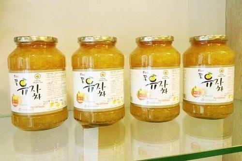 mua chanh mật ong hàn quốc hũ 1kg ở đâu tốt nhất