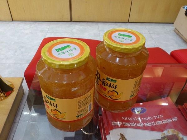Mật ong Hàn quốc làm quà