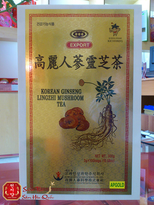 Cách sử dụng trà nhân sâm linh chi Hàn Quốc rất đơn giản