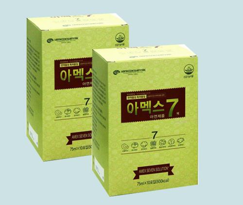 nước sâm và nấm amex 7 tăng cường hệ miễn dịch nâng cao sức khỏe