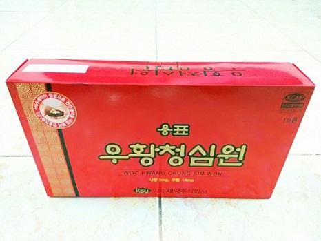 an cung đỏ Vip Iksu hộp 10 viên nội địa Hàn Quốc