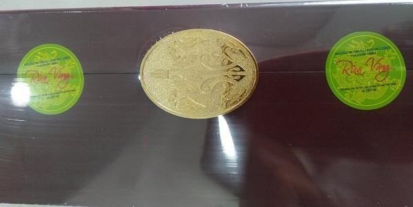 Viên an cung ngưu hoàng hoàn rùa vàng hộp 3 viên