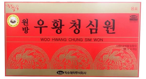 Tác dụng an cung ngưu hoàng IKSU Hàn Quốc hộp đỏ 10 viên