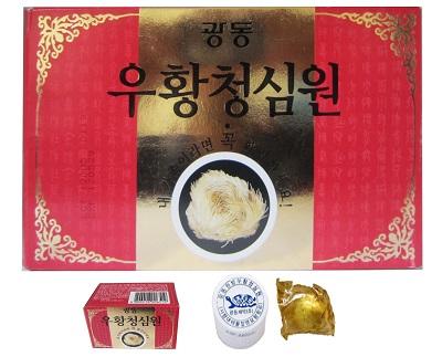 An cung ngưu hoàng tổ kén của Hàn Quốc bảo vệ tim mạch