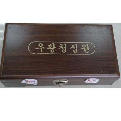 Kiện não hoàn Hàn Quốc hộp gỗ 10 viên sang trọng chất lượng