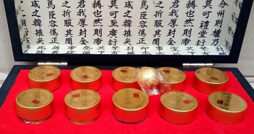 an cung ngưu hoàng kwangdong hàn quốc hộp đỏ 10 viên
