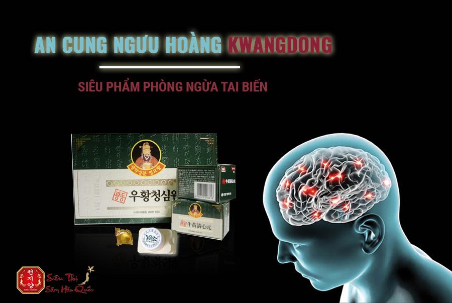 Review An Cung Ngưu Hoàng Kwangdong Hộp Màu Xanh Phòng Ngừa Tai Biến
