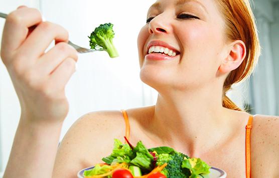 ăn nhiều rau xanh để có làn da đẹp