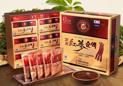 Nước Hồng Sâm Hàn Quốc Korean Red Ginseng Extract Drink