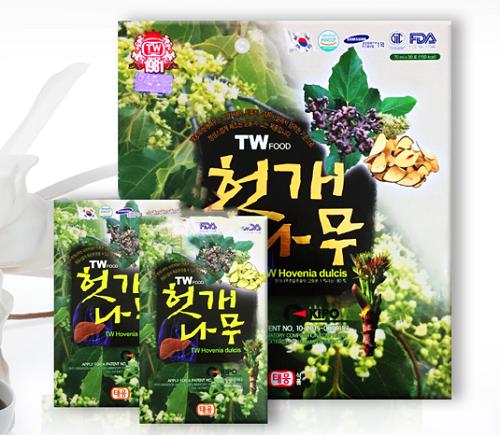 Nước bổ gan Taewoong hovenia dulcis Hàn Quốc chính hãng