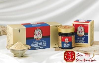 bột hồng sâm hàn quốc kgs tăng cường sức khỏe