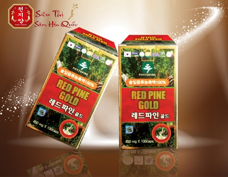 Cách sử dụng viên tinh dầu Red Pine Gold