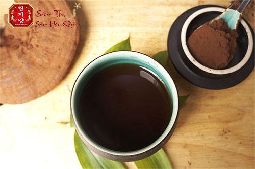 Cách sử dụng trà linh chi Hàn Quốc SamSung