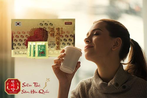Đối tượng sử dụng trà linh chi KGS