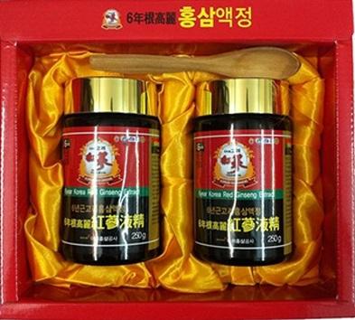 Cao hồng Sâm Hàn Quốc hộp 2 lọ
