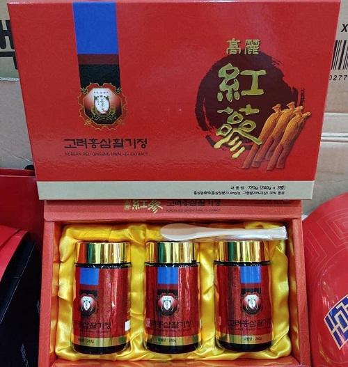 korean red ginseng hwal-gi extract an toàn cho sức khỏe