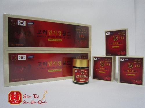 Công dụng của cao linh chi đỏ Hàn Quốc rất đa dạng