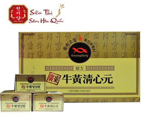 Công dụng của viên uống chống đột quỵ An cung Hàn Quốc hộp vàng