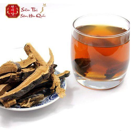 Công dụng của trà nhân sâm linh chi Hàn Quốc