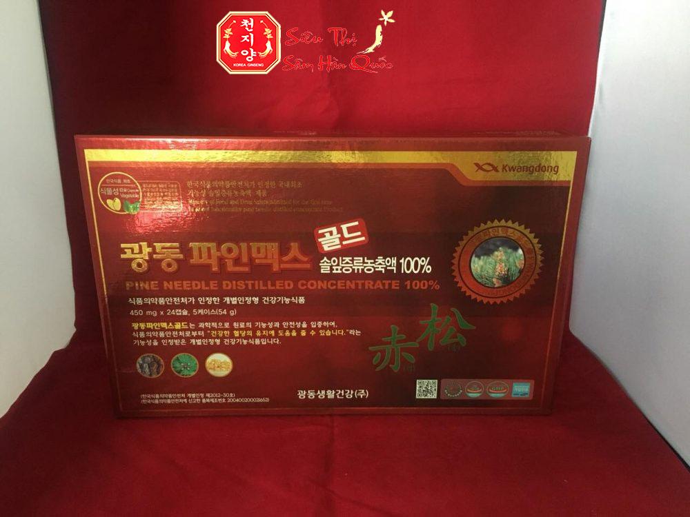 Địa chỉ uy tín mua tinh dầu thông đỏ Hàn Quốc