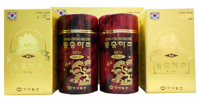 Sản phẩm đong trùng hạ thảo DooWon Đỏ