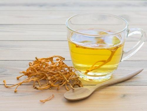 đông trùng hạ thảo bách mộc thường được dùng để pha trà