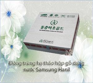 Đông trùng hạ thảo hộp gỗ dạng nước Samsung Hanil