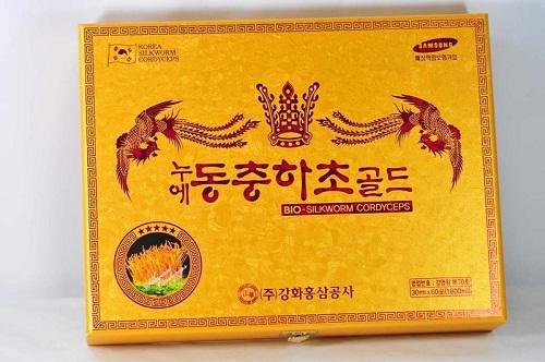 hộp đông trùng hạ thảo dạng nước kanghwa