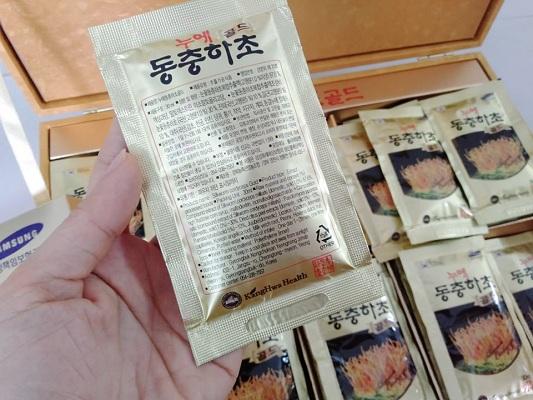 Nước Đông Trùng Hạ Thảo Kanghwa Bio-silkworm Cordyceps