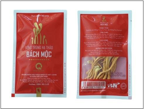 gói đông trùng hạ thảo bách mộc 1 gram
