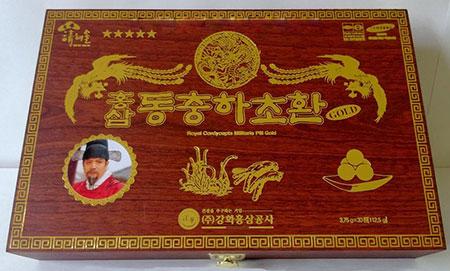 Đông trùng hạ thảo Hồng Sâm Hoàng Đế Hỗ trợ phòng và điều trị ung thư hiệu quả
