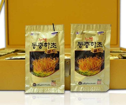 gói nước đông trùng hạ thảo kanghwa