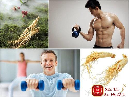 tinh chất hồng sâm tăng cường sức khỏe với nam giới hiệu quả