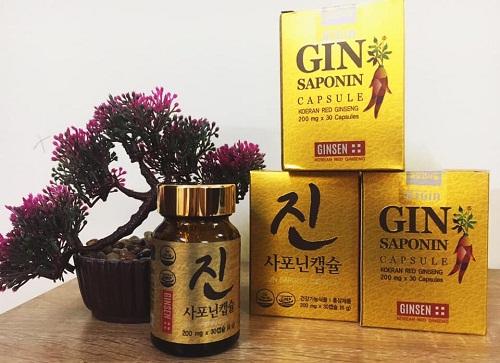 gin saponin capsule
